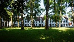 Beguinage, Bruges, Belgia zdjęcie stock