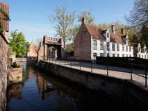 Beguinage in Bruges, Belgium Royalty Free Stock Photos