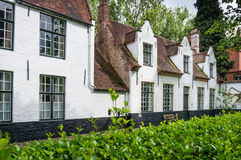Beguinage, Bruges, Belgium Stock Photos