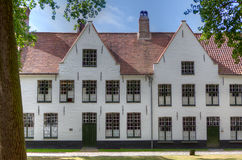 Beguinage Bruges/Bruges, Belgique Photos stock