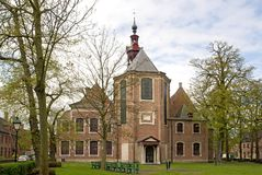 Beguinage church Ghent Stock Photography