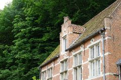 At the beguinage Royalty Free Stock Photo
