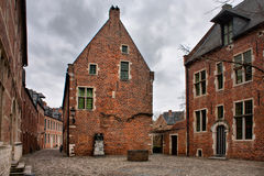Beguinage of Leuven Royalty Free Stock Photos
