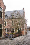 Beguinage of Leuven Royalty Free Stock Photography