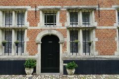 The Beguinage at Lier, Belgium. Royalty Free Stock Image