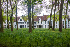 Beguinage Stock Image