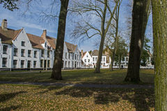 Beguinage Royalty Free Stock Photos