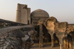 Begumpur清真寺在Jahanpanah 免版税库存图片