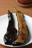 Begun Bhaja - Bengali Eggplant Fry Royalty Free Stock Image