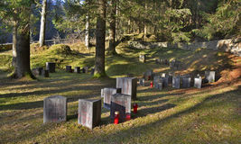 Begunje Hostages Cemetery Royalty Free Stock Photo