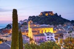 Begur, Costa Brava, Catalonia Spain At Evening, Beatifull View Royalty Free Stock Photo