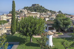 Begur,Costa Brava,Catalonia,Spain. royalty free stock image