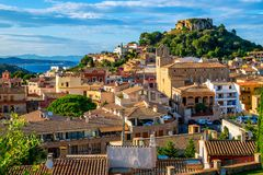 Free Begur Old Town And Castle, Costa Brava, Catalonia, Spain Royalty Free Stock Photo - 115097345