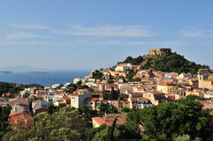 Begur view - Costa Brava Royalty Free Stock Photo
