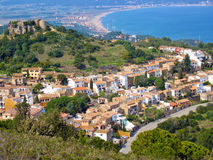 Begur village Stock Images