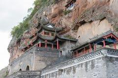 BEHÄLTER, CHINA - 1. NOVEMBER 2014: Behälter-Grafschafts-Höhlen-Tempel (UNESCO-Welt sie Lizenzfreie Stockfotografie