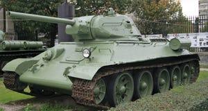 Behälter des Zweiten Weltkrieges T34 Lizenzfreies Stockbild