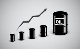Behälter für Öl v2 Lizenzfreies Stockbild