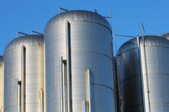 Behälter für Flüssigkeiten Lizenzfreies Stockfoto