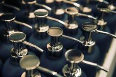 Behälter für Flüssigseife Stockbilder