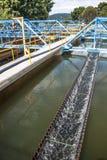 Behälter für Wasserbehandlung Lizenzfreies Stockfoto