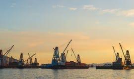 Behälter-Frachtfrachtschiff Stockbilder