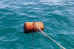 Behälter im Meer Lizenzfreies Stockfoto