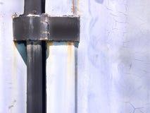 Behälter-Tür-Scharnier stockfotos