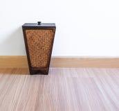 Behälter vom Bambus Stockfoto