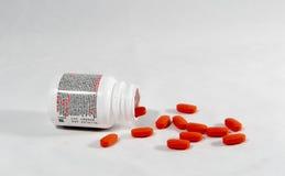 Behälter von Advil Lizenzfreies Stockbild