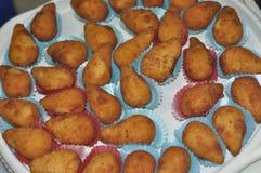 Behälter von Brasilianer Cozinha-Trommelstöcken Lizenzfreie Stockfotografie