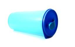 Behälterblau Lizenzfreie Stockbilder