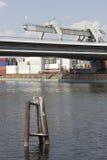 Behälterhafen Stockbild
