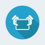 Behälterikone Lizenzfreie Stockbilder