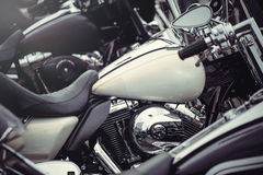 Behälterklassikermotorrad Lizenzfreie Stockfotos