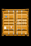 Behälterorange Stockbilder