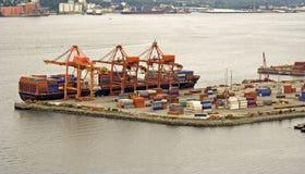 Behälterverschiffen Stockfotografie