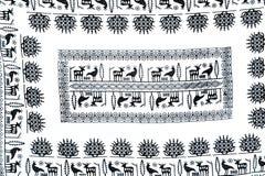 Behändigt hantverk i Ucisar Turkiet Arkivbild