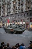 Behållare för Armata T-14 huvudsaklig ryssstrid Royaltyfria Foton