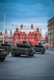 Behållare för Armata T-14 huvudsaklig ryssstrid Royaltyfri Fotografi