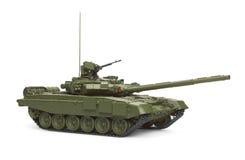 Behållare för huvudsaklig strid T-90 modell Arkivbild