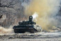72 behållare för ryss t Fotografering för Bildbyråer