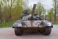 Behållare för T-64 B Arkivfoto
