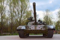 Behållare för T-64 B Arkivbild