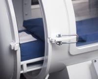 Behållare för terapi för Hyperbaric syre Arkivbild