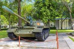 Behållare för vietnames T-54 på självständighetslotten Fotografering för Bildbyråer
