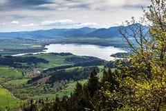 Behållare Liptovska Mara Arkivfoto
