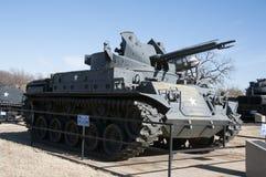 Behållare på det 45th museet i oklahoma city Arkivfoto