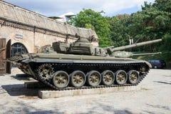 Behållare Polen för militär T-72 Royaltyfria Foton