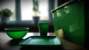 behållare tömmer plast- arkivfoto